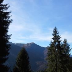 ANELLO DEI CASALI - Panorama sul Monte Zoncolan