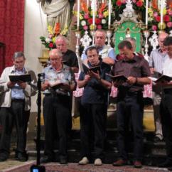 L'Onoranda Compagnia dei Cantori a Ludaria di Rigolato