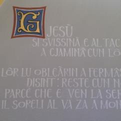 Discepoli di Emmaus (Lunetta 1)