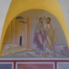 Discepoli di Emmaus (Lunetta 4)