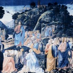 Discorso della montagna e guarigione del lebbroso - Dettaglio (Ph. Ulderica Da Pozzo)