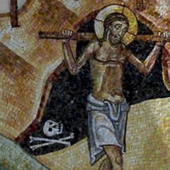 Gesù accetta di venire ammazzato dondividendo lo stesso destino di morte dell'uomo