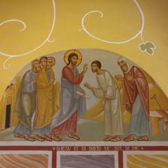 Il Vangelo di San Marco - Lunetta (1)