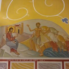 Il Vangelo di San Marco - Lunetta (4)