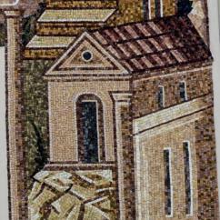 Le mura indicano la citta di Gerusalemme