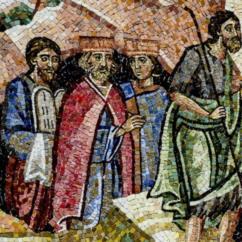 Giovanni il Battista, i re Davide e Salomone e Mosè