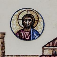 Il disco solare con il volto di Cristo